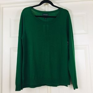 Cynthia Rowley Merino wool long sleeve sweater top